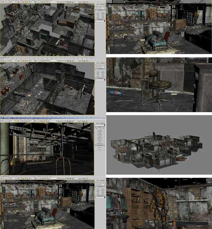 3dsmax三维场景制作步骤